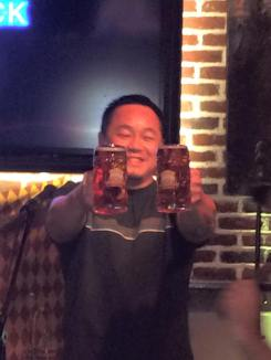 Henry's Stein Holding Contest